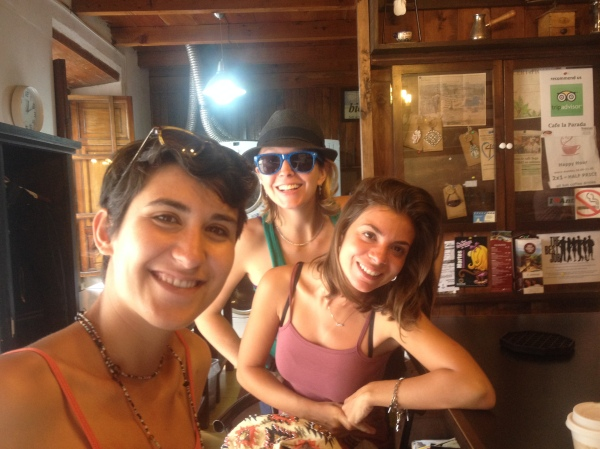 Browsing through local shops with some new friends. Antigua, Guatemala -- April Beresford