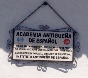 April's Spanish School in Antigua, Guatemala