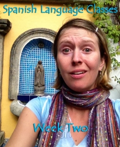 Week two: Trying hard, still not sinking in. Guatemala -- April Beresford