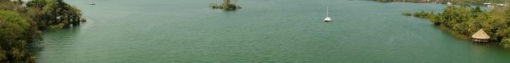 View from the bridge over the Rio Dulce, Guatemala -- Karina Noriega