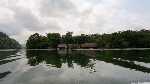 Mayan villages on the banks of the Rio Dulce, Guatemala -- Karina Noriega