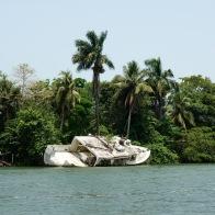 Hurricanes are a common occurrence around Livingston bringing rains and destruction. Caribbean coast, Guatemala -- Karina Noriega