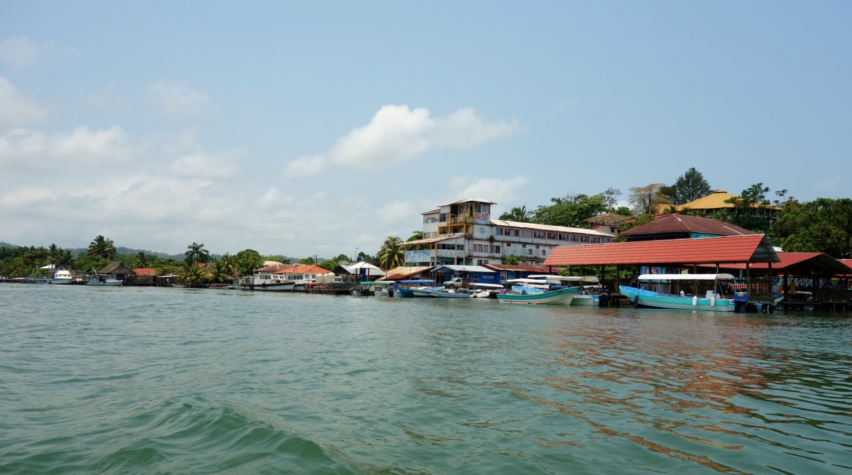 Waterfront Livingston, Guatemala -- Karina Noriega