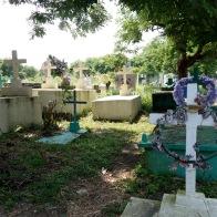 Local cemetery on the outskirt of the Garifuna town of Livingston, Guatemala -- Karina Noriega