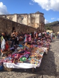 Outdoor markets are one of the most charming elements of this city. Antigua, Guatemala -- April Beresford