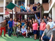Volunteering in Guatemala at an organization that keeps kids off the streets and in school. Guatemala City, Guatemala