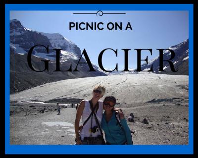 picnic on a glacier