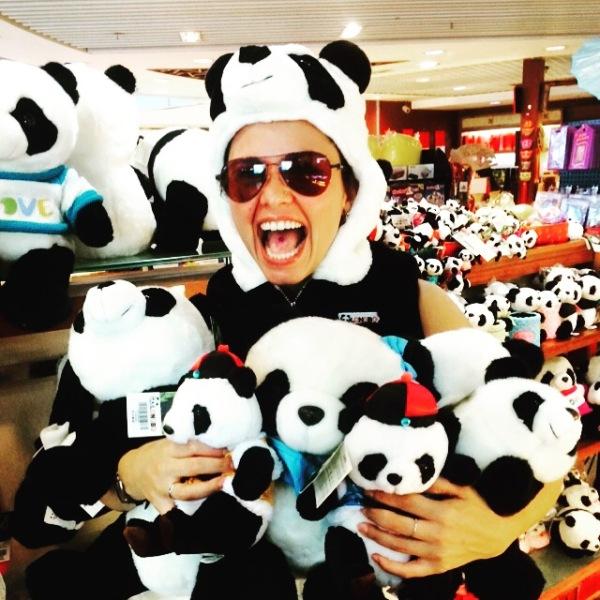 Pandamonium! Arriving in Hong Kong -- Karina's Extraordinary Life