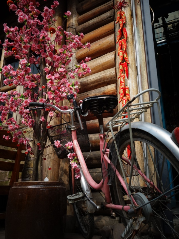 Bicycles are the ideal way to explore most old towns. West Street, Yangshuo, Guanxi, China – Karina Noriega