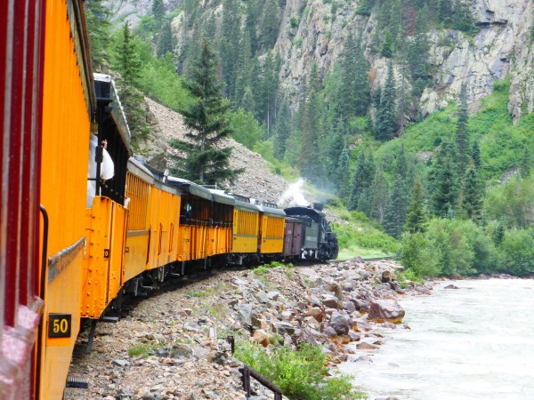 Durango and Silverton Narrow Gauge Railroad - Extraordinary Places to Visit and Things to do in Colorado